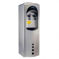 Кулер Aqua Work 16LD/HLN серебро/черный, электрон., напольный
