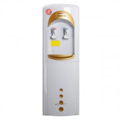 Кулер Aqua Work 16LD/HLN белый/золотой, электрон., напольный