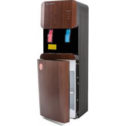 Кулер Aqua Work 105 LDR черный/венге, электрон., шкафчик, напольный