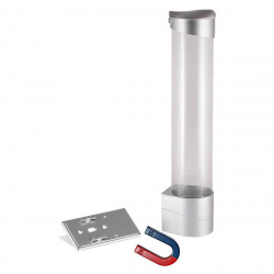 Держатель стаканов на магнитах Aqua Work CH-1 (серебро)