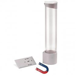 Держатель стаканов на магнитах Aqua Work CH-1 (белый)
