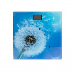 Весы напольные Centek CT-2421 Spring Flower электронные, max 180кг, шаг 0,1кг, 260х260мм