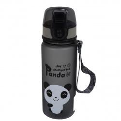 Бутылка пластиковая 400мл Panda КОКОС 207275 черного цвета