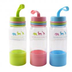 Бутылка пластиковая 480мл Safari deVENTE 8090946 ассорти 3 вида