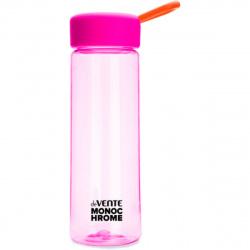 Бутылка пластиковая 500мл Monochrome deVENTE 8090938 розового цвета