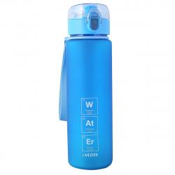 Бутылка пластиковая 560мл Water deVENTE 8090942 синего цвета