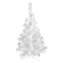 Ёлка Метелица 50см, тип хвои ПВХ, цвет белый, подставка пластик Morozco 100525