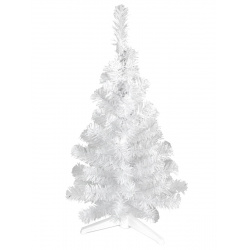 Ель 100см Метелица ПВХ подставка пластиковая Morozco 1010 белая