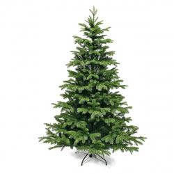 Ель Anson 180см, тип хвои ПВХ+литая, подставка металлическая, цвет зеленый Beatrees 1031918