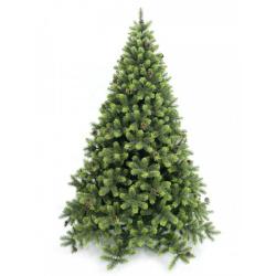 Ель Лесная Красавица 185см, тип хвои ПВХ+леска, подставка металлическая, цвет зеленый Beatrees 1020585