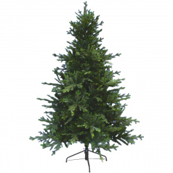 Ель Calipso 190см, тип хвои ПВХ+литая, подставка металлическая, цвет зеленый Beatrees 1030619