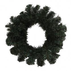 Венок новогодний d-30см ЛЬДИНКА 170720 зеленый