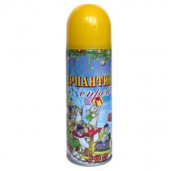 Серпантин синтетический 250мл Феникс-Презент 75804 желтый