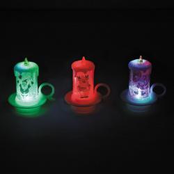 Фигура светодиодная Свеча 8см пластик ЛЬДИНКА 170831