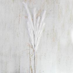 Украшение Ветка 90см пластик ЛЬДИНКА 210048 белый