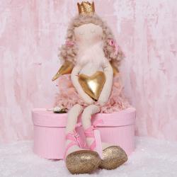 Украшение Кукла Девочка-ангел 42см ЛЬДИНКА 209922