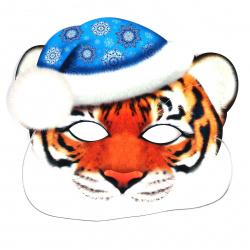 Маска карнавальная Тигра Мир открыток 3-03-5077А