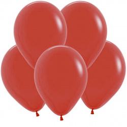 Шар воздушный 25см Macaroon Pastel КОКОС 210106 красный