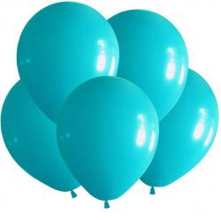 Шар воздушный 25см Macaroon Pastel КОКОС 210108 голубой