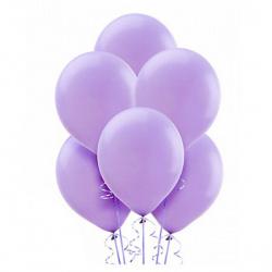 Шар воздушный 25см Macaroon Pastel КОКОС 210110 фиолетовый