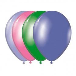 Шар воздушный 25см Пастель Экстра BELBAL 1101-0031 ассорти 8 цветов