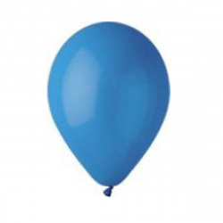 Шар воздушный 25см Пастель Экстра BELBAL 1102-0123 синий