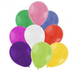 Шар воздушный латекс, 30см, цвет ассорти, 100шт Pastel Микрос Ч01338