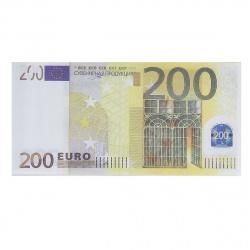 Шуточные деньги 200 евро Миленд 9-51-0007