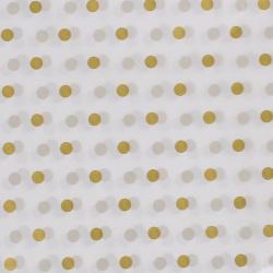 Скатерть 137*220 Gold полиэтилен КОКОС 205590/1 белая/золото