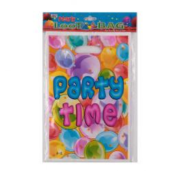 Набор Пакет подарочный 16*25см 10шт ПВХ Party Все для праздника прорубная ручка НИКА 0416S0106_6