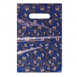 Пакет подарочный 20*30см ПВХ 30мкм Жаклин прорубная ручка 134651 упаковка 100шт