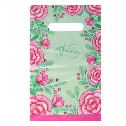 Пакет подарочный 20*30см ПВХ 30мкм Пыльца прорубная ручка Интерпак 134306 упаковка 100шт