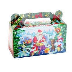 Коробка для конфет 500гр Сундучок Список подарков Миленд КК-1570
