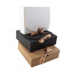 Коробка подарочная 11,5*11,5*5см, ассорти 3 вида, ассорти КОКОС 212865