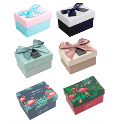 Коробка подарочная Style Dewen (9*8,5*6) КОКОС 209376 ассорти 7 видов