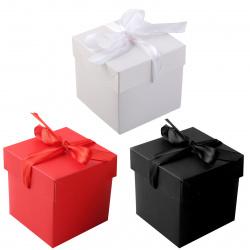 Коробка подарочная 22*22*22см, ассорти 4 вида, ассорти КОКОС 213022