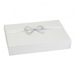 Коробка подарочная Classic 25*35*6см, серебро КОКОС 212920