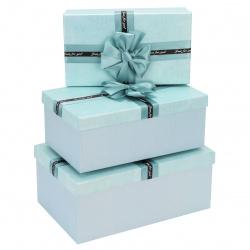 Набор подарочных коробок Just for you 3шт, 21*32*13,5-15*26*9,5см, персиковый КОКОС 212946