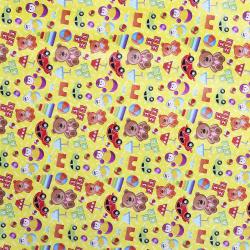 Бумага упаковочная 70*100 1 лист Игрушки Миленд 10-05-0050