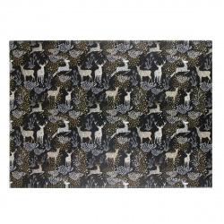Бумага упаковочная Golden deer 70*100см, 1 лист, рисунок КОКОС 209677