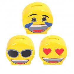 Копилка керамическая Smile КОКОС 207256 ассорти 3 вида