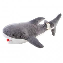 Подушка-игрушка Акула 70см, полиэстер, холлофайбер КОКОС 210191