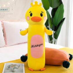 Подушка-валик Duck 55см, полиэстер, холлофайбер КОКОС 211357