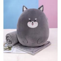 Плед-подушка 110*160см Cat 211409 КОКОС