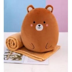 Плед-подушка 110*160см Bear 211410 КОКОС