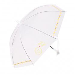 Зонт полуавтоматический, ПВХ, диаметр 90см, высота 73см, трость, ассорти 2 вида Smile КОКОС 211313