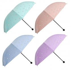 Зонт механический полиэстер d-96см Magic Rain 207394 КОКОС ассорти 5 видов