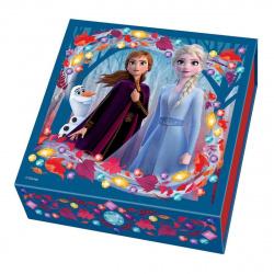 Аппликация стразами 200*150 Десятое Королевство Шкатулка Disney Холодное сердце-2 217 страз 03854