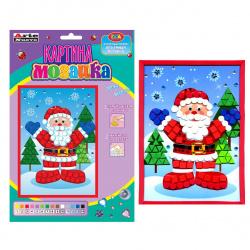 Мозаика ЕVA 17*24см Arte Nuevo Дед Мороз DT-1031-6