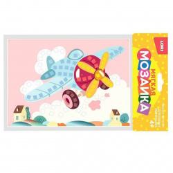 Мозаика ЕVA 15*21см Lori Яркая бабочка Кэ-008
